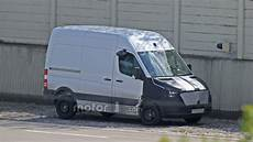 2018 Mercedes Sprinter Spied With Camouflaged