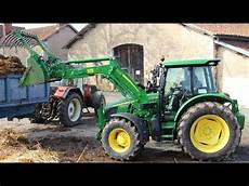 vidéo de tracteur essai tracteur deere 5100r test drive avis et commentaires