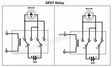 dpdt relay double pole double throw