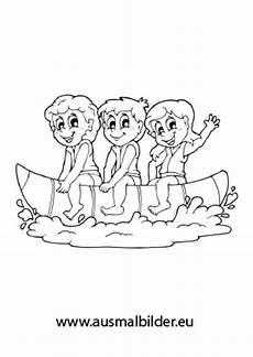 Ausmalbilder Kinder Urlaub Ausmalbild Kinder Auf Einem Banana Boat Kostenlos Ausdrucken
