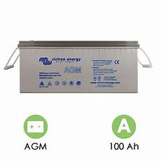 Batterie Agm 12v 100ah Cycle Victron Energy