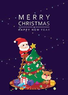 merry christmas wallpaper template merry christmas template dark navy background vector premium download