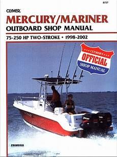 motor auto repair manual 2009 mercury mariner electronic throttle control mercury mariner outboard manual service shop and repair manuals for 1998 2009 75 250 hp motors