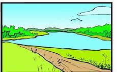 Malvorlagen Landschaften Gratis Gratis Landschaft See Ausmalbild Malvorlage Landschaften