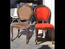 stühle neu polstern stuhl neu mit polster und stoff bespannen part1 2