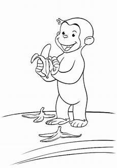 Ausmalbilder Zum Drucken Affe Malvorlagen Zum Ausmalen Ausmalbilder Coco Der Neugierige