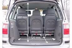 Ford Galaxy Kofferraum Maße - adac auto test ford galaxy 1 9 tdi trend