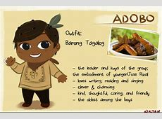 Cute: Young artist reimagines Filipino food as adorable