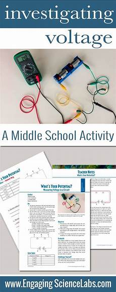 physical science measurement worksheets 13142 electric circuits measuring voltage in circuits on lab activity physical science stuff