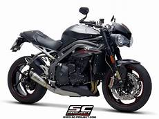 Sc Project Exhaust Triumph Speed S Rs S1 Silencer 2018