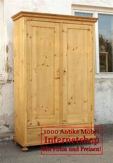 alter antiker kleiderschrank bauernschrank dielenschrank
