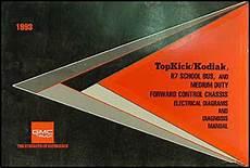 1993 gmc topkick wiring diagram 1993 topkick kodiak p6 repair shop manual original
