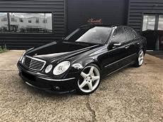 mercedes occasion annonce vendue mercedes classe e berline w211 55 amg berline noir occasion 19 500 151 500