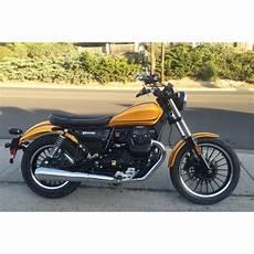 2017 moto guzzi v9 roamer yellow