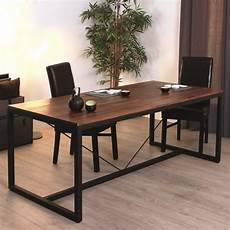 table salle a manger style industriel table rabattable cuisine table a manger style