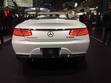 2017 NYIAS Mercedes Maybach S650 Cabrio Hits New York