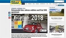 Auto Gewinnspiel Promobil Leserwahl Fiat 500 Gewinnen