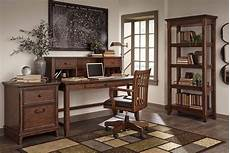 real wood home office furniture woodboro brown faux leather solid wood office furniture