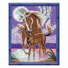 pferdegefl 252 ster malen nach zahlen romantik 18 99