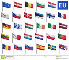 eu mitglieder 2016 eu flags stock photo image of cloth isolated government