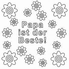 Vatertag Ausmalbilder Zum Ausdrucken Kostenlose Malvorlage Vatertag Papa Ist Der Beste Zum