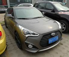 Carbone Hyundai by Hyundai Veloster Is Carbon Fiber Gray Brown In China