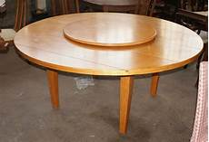 Kitchen Table With Lazy Susan 1 amazing drexel heritage table with lazy susan