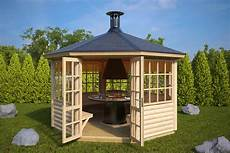 octagonal bbq hut seattle l 9 5m 178 3 6 x 3 6m 55mm