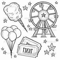 carnival food coloring pages at getcolorings free