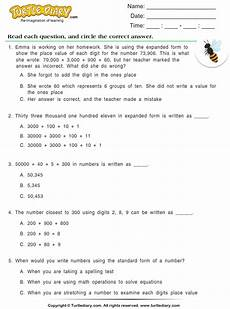 worksheets on writing numbers in standard form 21208 write numbers in standard form worksheet turtle diary