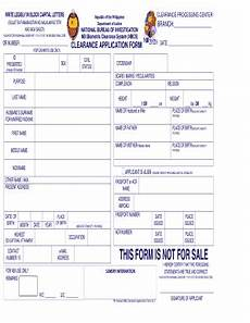 bclearanceb application form internet bphilippinesb fill online printable fillable blank