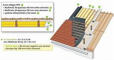 prix isolation toiture par l extérieur multimax 30 semi rigide pour une isolation optimale