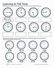 printable time worksheets for 1st grade 3732 time practice worksheet education