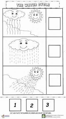 the water cycle worksheet preschoolplanet