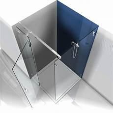 produkt detail stabilisationsstange glas wand eckig