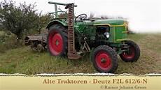 alte traktoren deutz f2l 612 6 n 1959