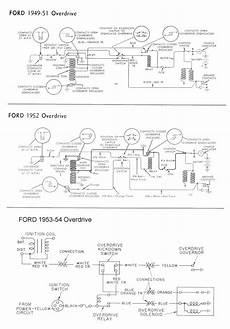 1953 ford car wiring diagram wiring for 1949 54 ford car overdrive living room sets furniture buy living room furniture