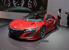 2016 Honda Nsx News Reviews Msrp Ratings With Amazing