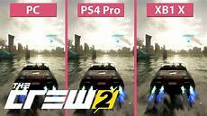 the crew 2 ps4 4k the crew 2 pc max vs ps4 pro vs xbox one x