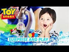 disney toy story slide and surprise playset with color splash buddies youtube