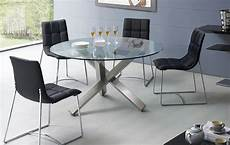 stylish glass top dinette tables and chairs modern design