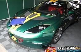 THE NEW LOTUS EVORA CUP GT4 RACE CAR