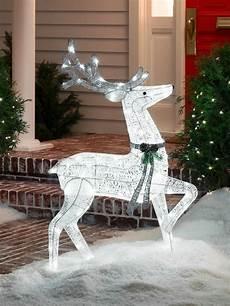 Reindeer Decorations Outdoor by Reindeer Decorations Outdoor