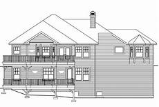 sloped lot house plans country house plans lethbridge 30 586 associated designs