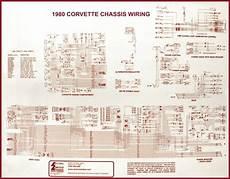 1980 corvette diagram electrical wiring corvetteparts com