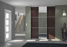 porte coulissante placard porte de placard en miroir centimetre
