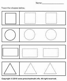 preschool worksheets shapes free printable preschool