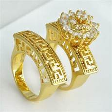 wedding ring sets s trio diamond new used ebay
