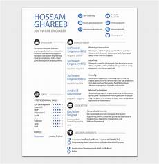 android developer resume template 21 for senior