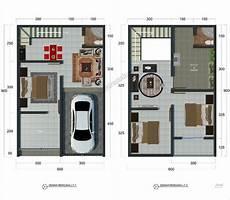 Rumah Minimalis 2 Lantai Modern Type 36 Content
